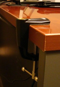 C-Clamp on Desk