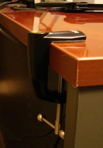 C-Clamp on Desk
