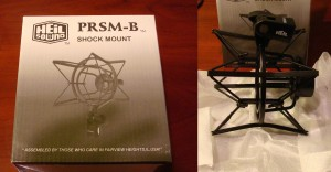 Heil PRSM-B Shock Mount Box / Unboxed