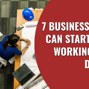 7 Businesses You Can Start While Working Your Day Job | Startup Business Ideas