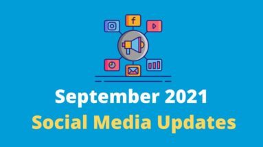 September 2021 Social Media Updates #Shorts